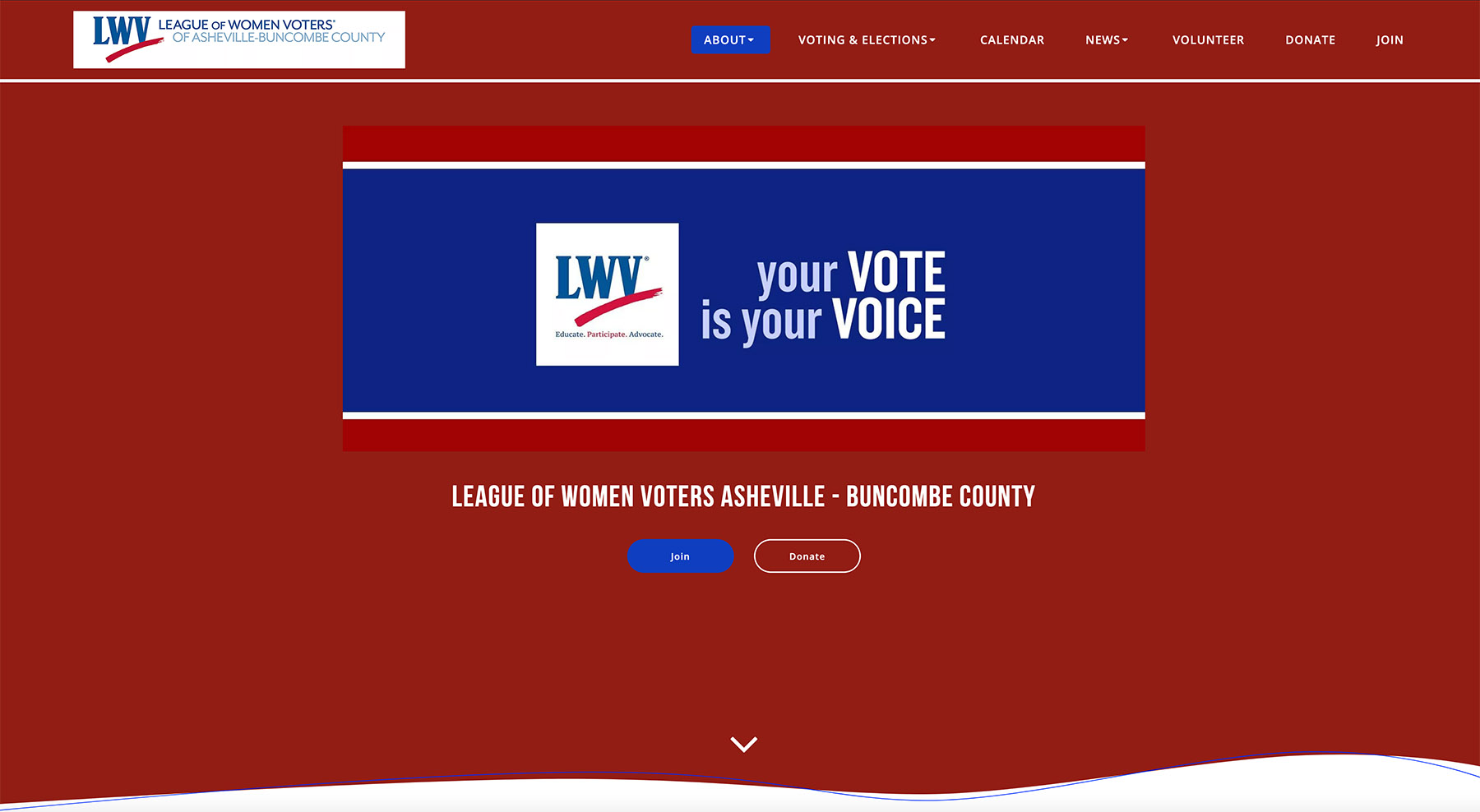 League of Women Voters Asheville - Buncombe