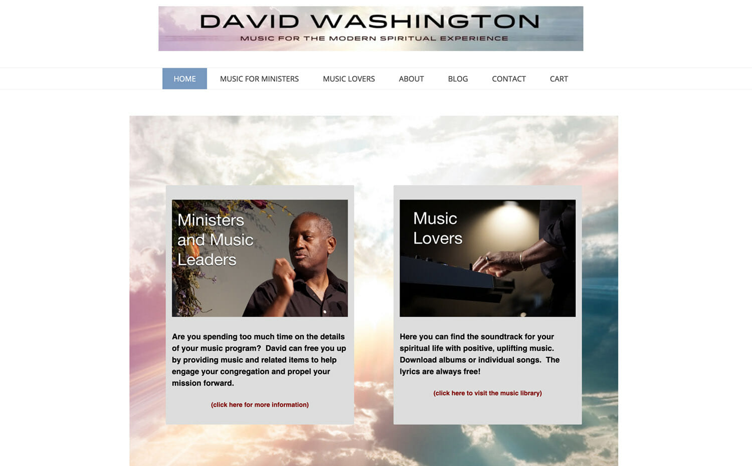 David Washington Music